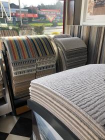 showroom at metric carpets